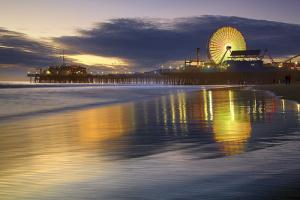 Santa Monica Spin #3 - Santa Monica Pier, California