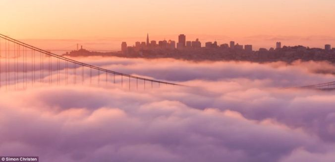 sunrise in san francisco